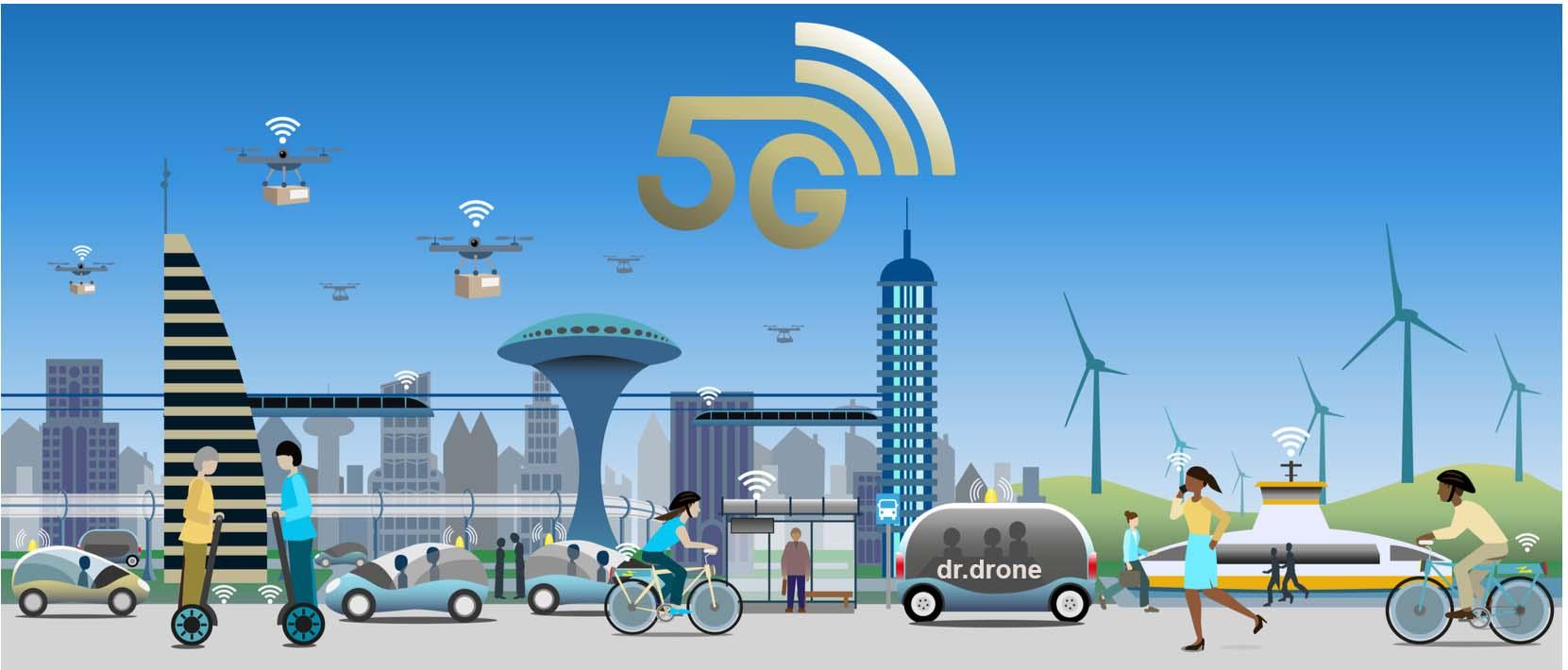 Drone 5G Wi-Fİ Kullanımı